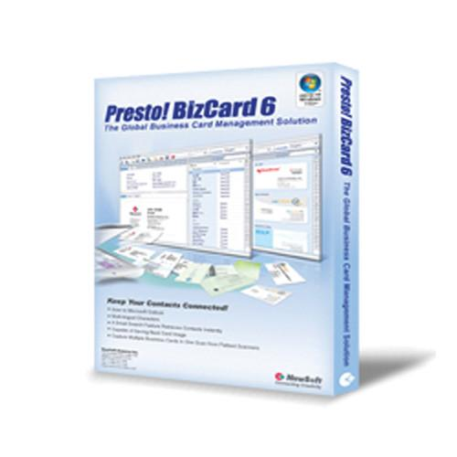 NewSoft Technology Presto! BizCard 6 Software BIZCARD61010