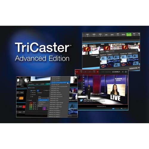 NewTek TriCaster Advanced Edition Software FG-001090-R001