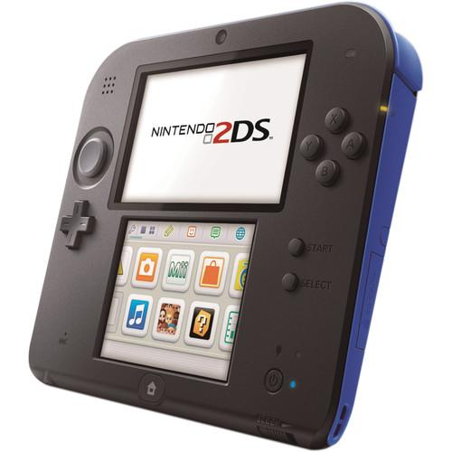 Nintendo 2DS Handheld Gaming System (Electric Blue) FTRSKBAA