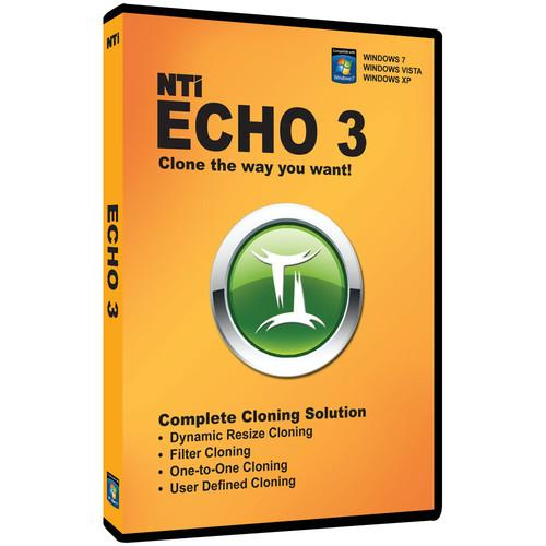 NTI  8801-DVD Echo 3 Cloning Software 8801-DVD