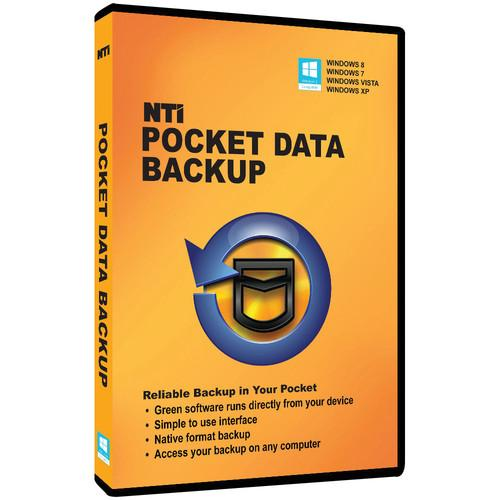 NTI  Pocket Data Backup 9110-DVD