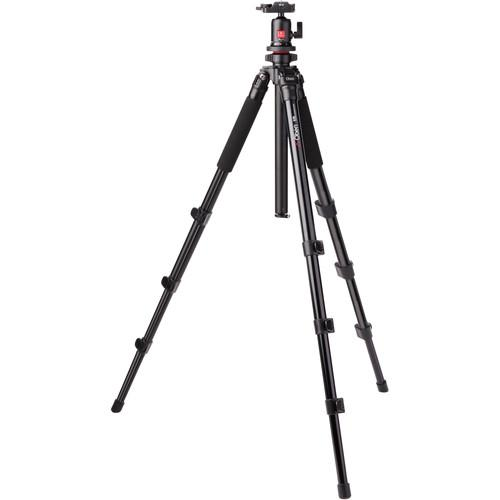 Oben AC-1451 4-Section Aluminum Tripod AC-1451/BA-113