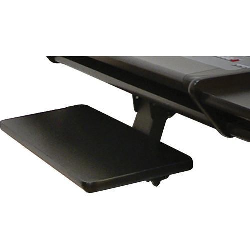 Omnirax KMSNT-B Adjustable Keyboard / Mouse Shelf for NT KMSNT-B