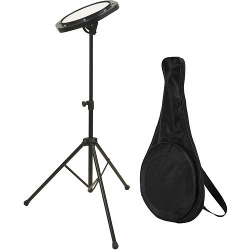 On-Stage Drum Practice Pad with Stand & Bag DFP5500