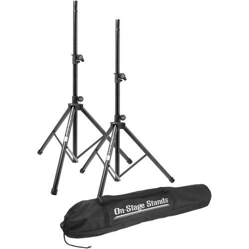 On-Stage SSP7900 All-Aluminum Speaker Stand Pak SSP7900