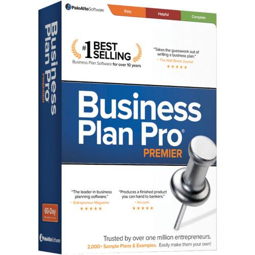 Palo Alto Software Business Plan Pro Premier 12 BRUSDL12