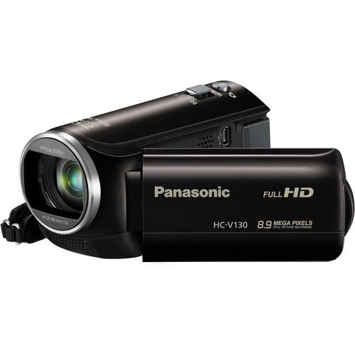 Panasonic HC-V130E Full HD Camcorder (PAL, Black) HC-V130E