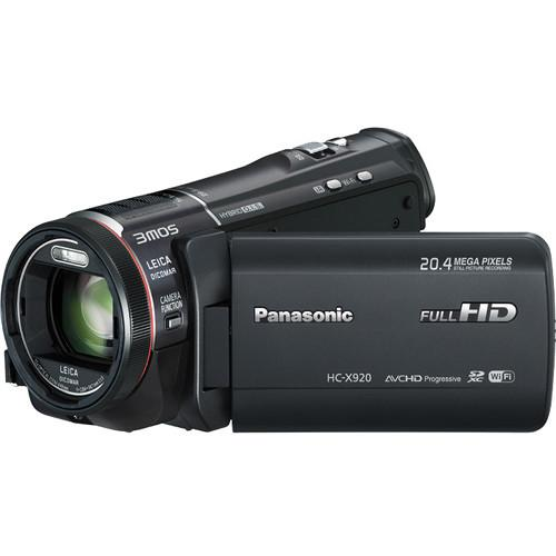 Panasonic HC-X920 3MOS Ultrafine Full HD Camcorder HC-X920EP-K