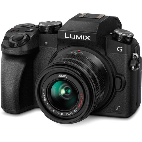 Panasonic Lumix DMC-G7 Mirrorless Micro Four Thirds DMC-G7KK