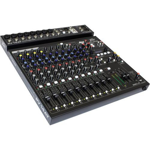 Peavey PV 14 AT Mixing Console with Bluetooth and 03612630