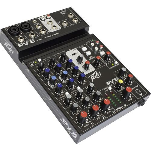 Peavey  PV 6 Mixing Console 03612570