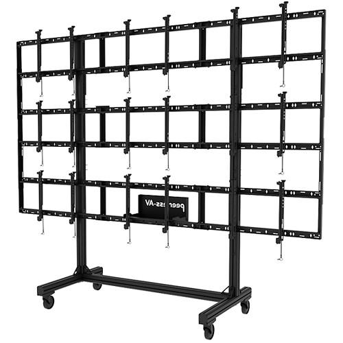 Peerless-AV Portable Video Wall Cart for 46 to DS-C555-3X3