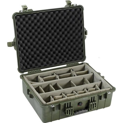 Pelican 1604 Waterproof 1600 Case with Dividers 1600-004-130