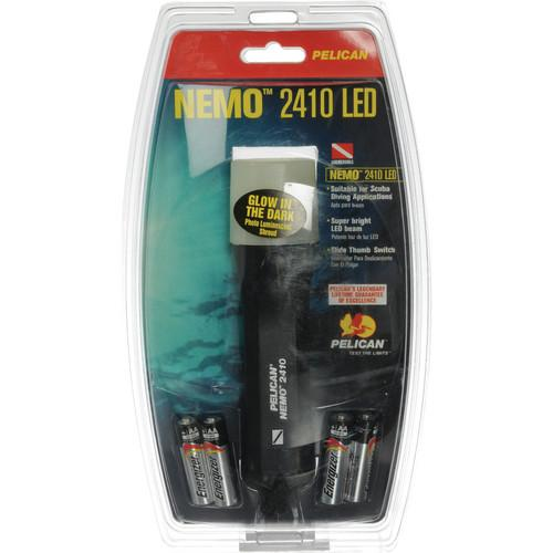 Pelican Nemo StealthLite 2410 LED Photoluminescent 2410-017-117