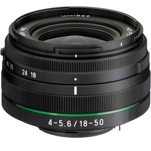 Pentax HD PENTAX DA 18-50mm f/4.0-5.6 DC WR RE Lens 21357