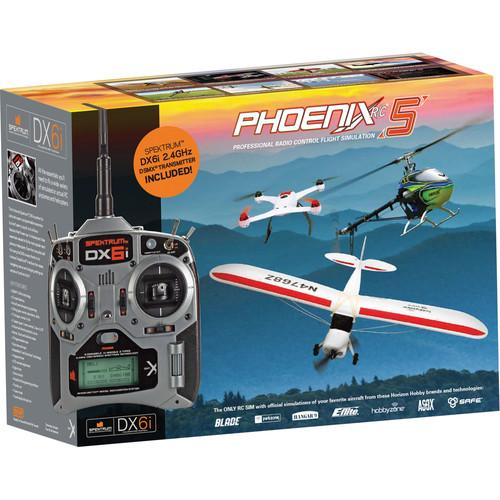 Phoenix R/C Pro Simulator V5.0 with DX4e Transmitter RTM50R6630
