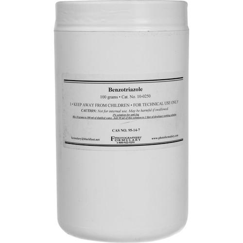 Photographers' Formulary Benzotriazole 10-0250 100G