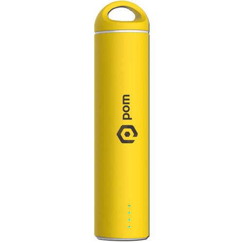 POM GEAR Sling 2200mAh Power Bank (Yellow) P2G-5005YW