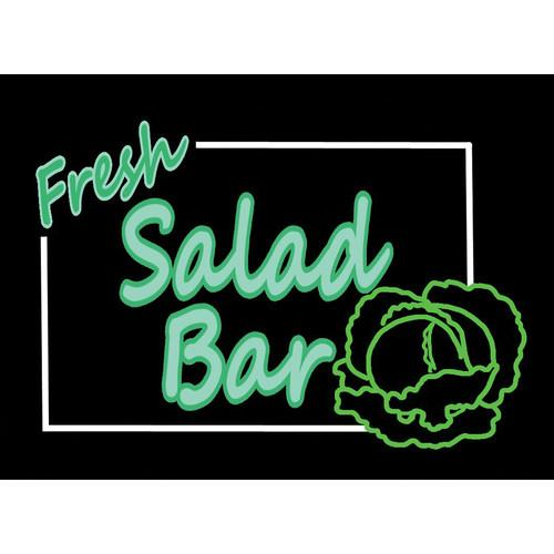 Porta-Trace / Gagne LED Light Panel with Fresh 1118- SALAD BAR
