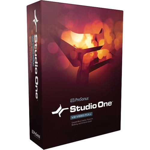 PreSonus Studio One 2.5 Artist - Audio and STUDIO ONE ARTIST 20