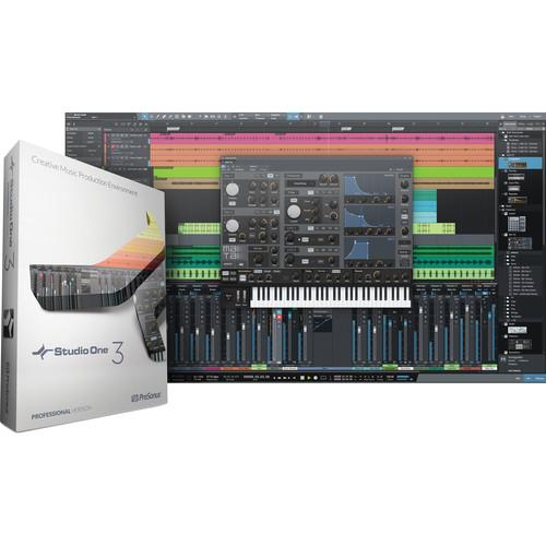 PreSonus Studio One 3 Professional - DAW S1DAW TO S1PRO3