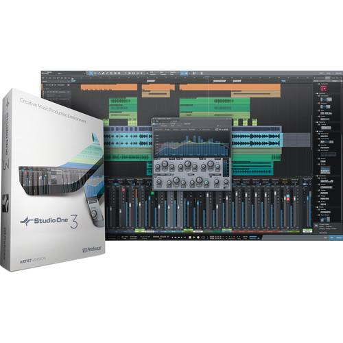 PreSonus Studio One Artist 3 Upgrade - Audio and S1ART UP S1ART3