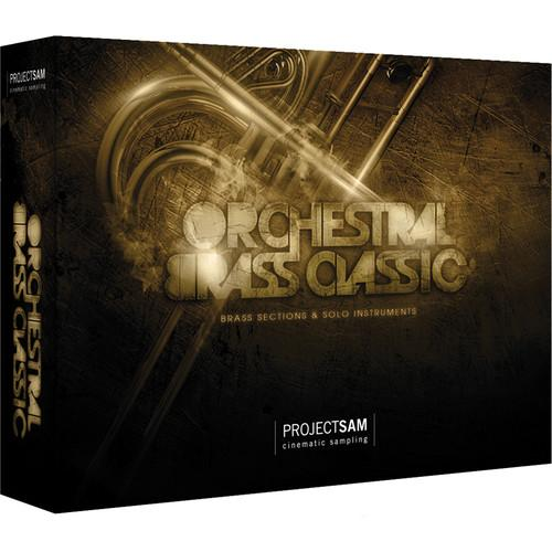 ProjectSAM Orchestral Brass Classic (Download) PS-OBC-H