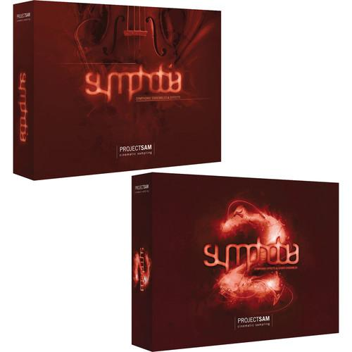 ProjectSAM Symphobia 1 2 Duo Pack Bundle (USB Drive) PS-SYMP-H