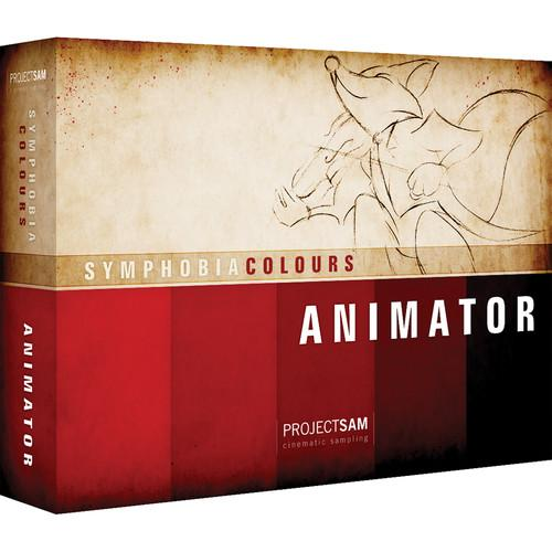 ProjectSAM Symphobia Colours - Animator (Download) PS-COL-ANIM