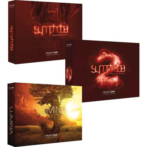 ProjectSAM Symphobia Trio Pack Bundle - The Complete PS-SYMT-H