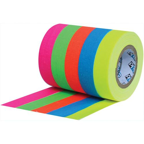 ProTapes Pro Pocket Fluorescent Color Spike Tape 001SPIKES6MFLSW