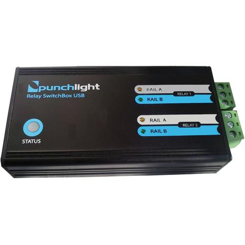 PunchLight  Relay Switchbox USB RSBUSB400