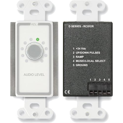 RDL D-RCX10R Remote Volume Control for RCX-5C Room D-RCX10R