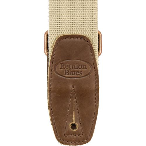 Reunion Blues Merino Wool Guitar Strap (Beige) RBS-73