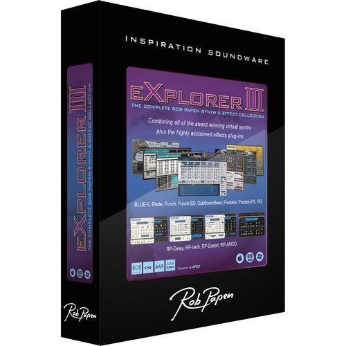 Rob Papen Explorer III - Virtual Instruments and RPBUP13 ED