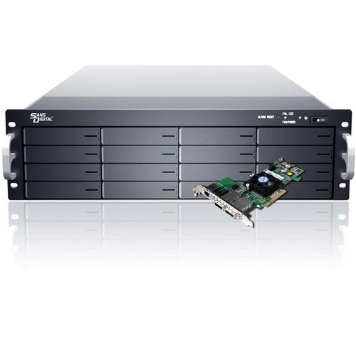 Sans Digital EliteSTOR ES316X6 BSHP 16-Bay 6G KT-ES316X6 BSHP
