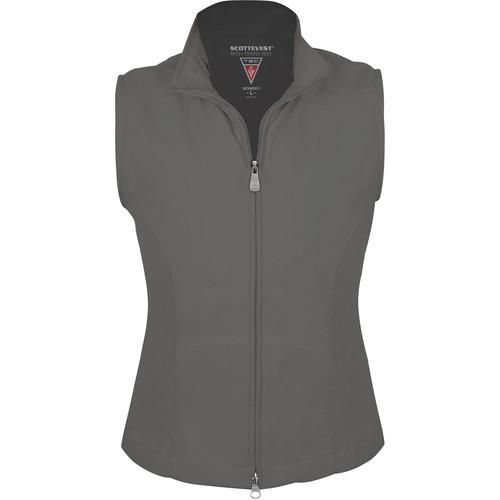 SCOTTeVEST RFID Travel Vest for Women (Large, Gray) RVWLGY