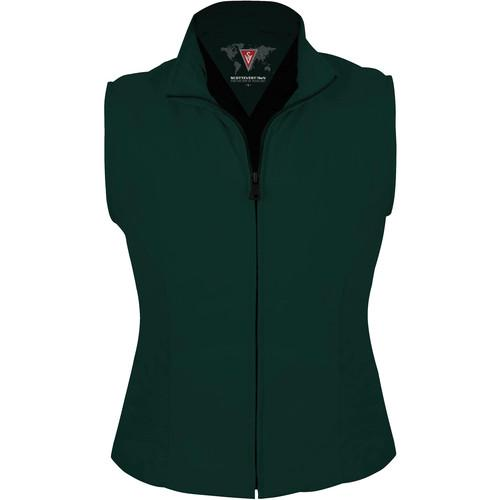 SCOTTeVEST Travel Vest for Women (Large, Hunter Green) TVWLHGN