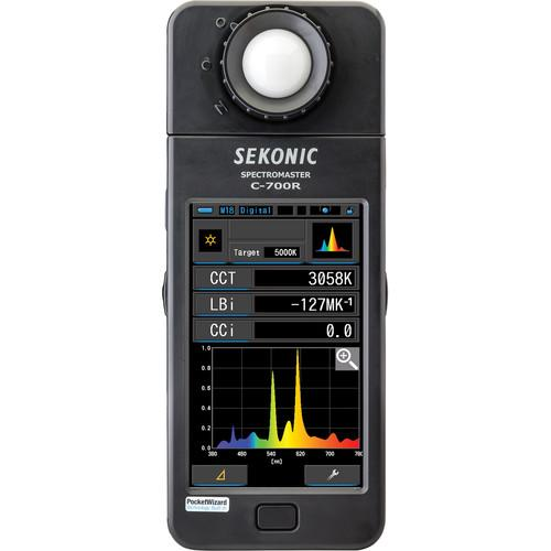Sekonic C-700R SpectroMaster Color Meter with Wireless 401-701