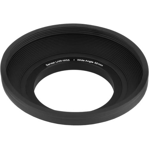 Sensei  55mm Wide Angle Rubber Lens Hood LHR-W55