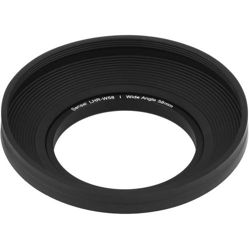 Sensei  58mm Wide Angle Rubber Lens Hood LHR-W58