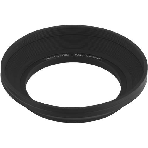 Sensei  82mm Wide Angle Rubber Lens Hood LHR-W82