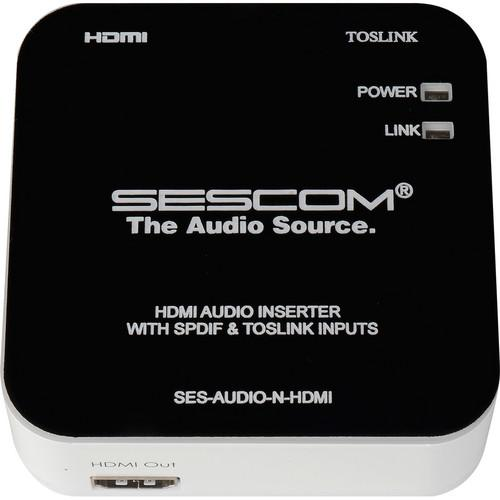 Sescom SES-AUDIO-N-HDMI Audio Inserter SES-AUDIO-N-HDMI