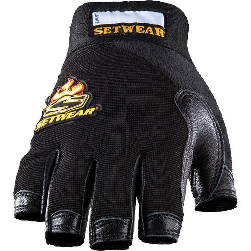 Setwear Leather Fingerless Gloves (Large) SWF-05-010