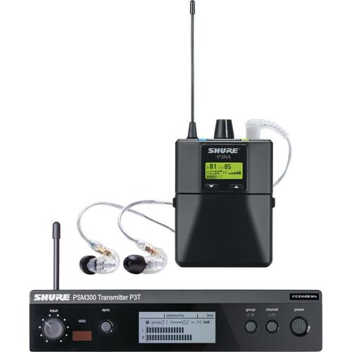 Shure PSM 300 Stereo Personal Monitor System P3TRA215CL-G20