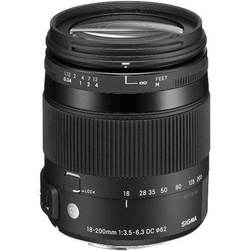 Sigma 18-200mm f/3.5-6.3 DC Macro OS HSM Lens For Nikon 885-306