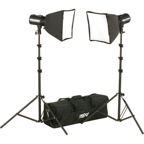 Smith-Victor FL525K 2-FlashLite 240Ws Basic Studio Kit 401530
