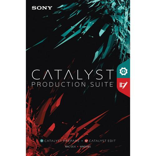 Sony Catalyst Production Suite (Download) CATPS1099ESD