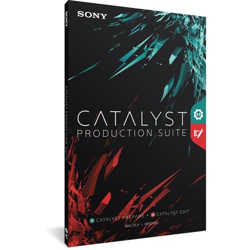 Sony Catalyst Production Suite Upgrade from Catalyst CATPS1004