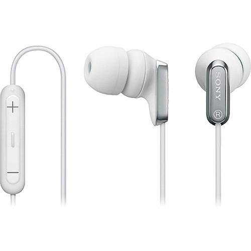 Sony MDR-EX38iP In-Ear Stereo Headphones (White) MDREX38IP/WHI